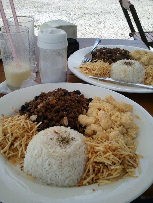 Marujo's bar estação das docas belém prato vegetariano