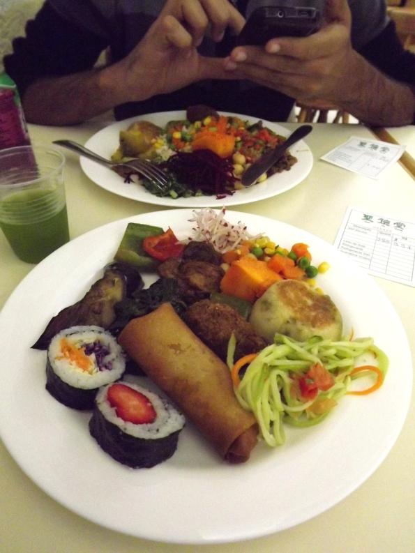 San Te Tang, restaurante vegetariano em Petrópolis