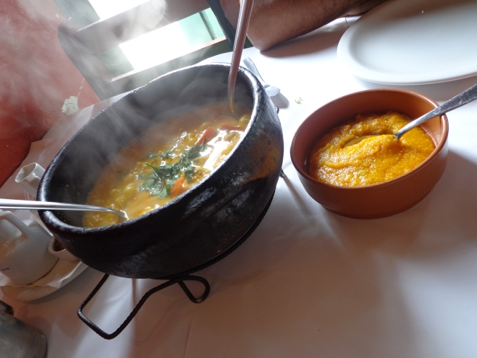 Moqueca vegetariana do restaurante Arpoador