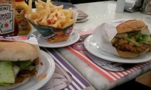the fifties hamburguer