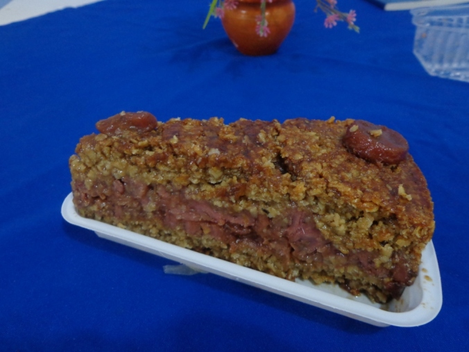 Torta de banana vegan do Natureza Viva