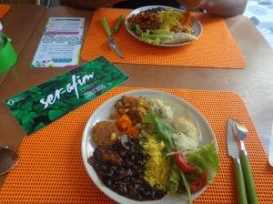 opção vegana em maceió restaurante ser-afim