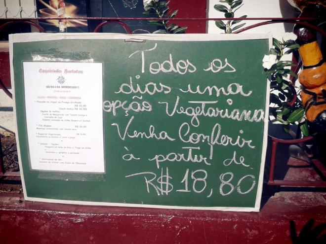 bartatas opção vegetariana ilha bela