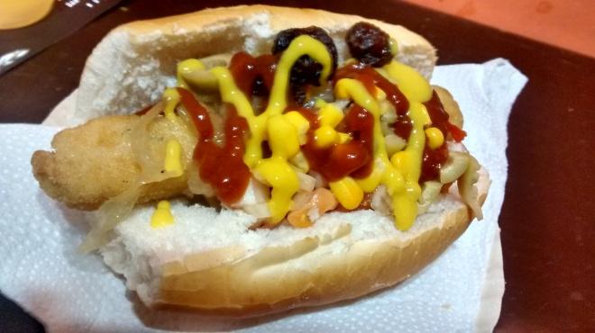 hotdog vegano buzios